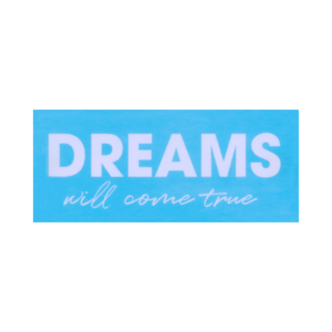 Façade Dreams Bleu PVC pour Boite Lumineuse