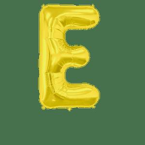 Ballon Lettre E Or 90 cm