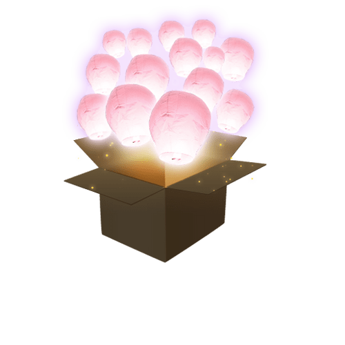 Balloon Rose Pâle x50