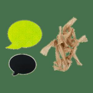Set Etiquettes Vert 25 Pièces