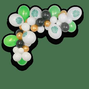 Arche De Ballon Jungle Vert 2 m x50