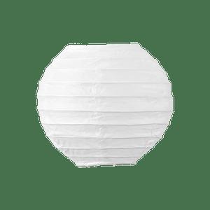 Boule Papier 10cm Blanc