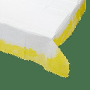 Nappe Papier blanc dégradé Jaune