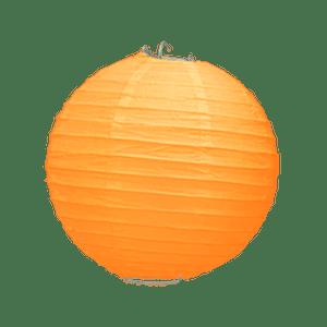 Boule Papier Orange 20 cm x3