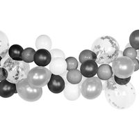 Arche De Ballon Argent 2 m x50