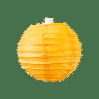 Boule papier 10cm Orange