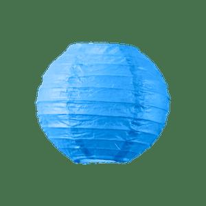 Boule papier 10cm Bleu roi