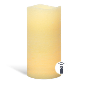 Bougie LED Ivoire 30cm Télécommandable