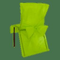 Housse de Chaise avec nœud Vert Anis x10