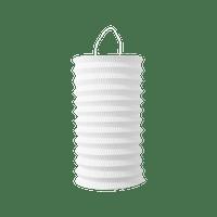 Lampion 15cm Blanc