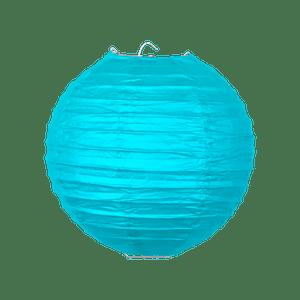 Boule papier 20 cm Turquoise
