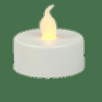 Bougie Chauffe Plat LED Pour Déco et Lanternes (Lot de 10 pièces)