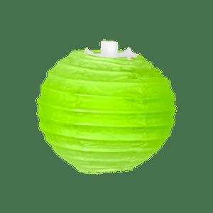 Boule papier 10cm Vert