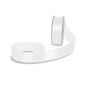 Ruban Satin Blanc 25mm x 25m