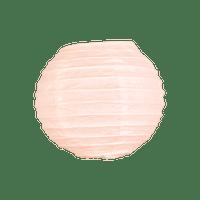 Boule papier 10cm Pêche