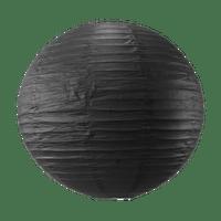 Boule papier 50 cm Noir