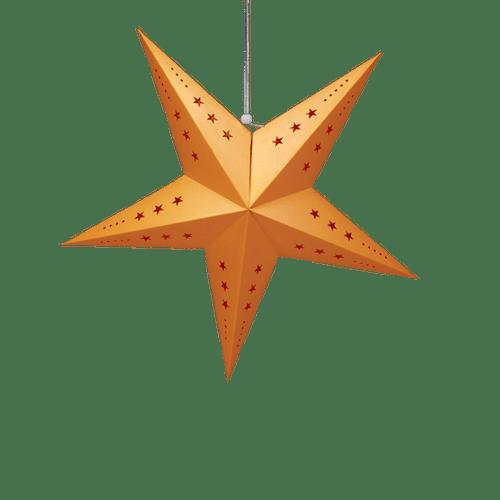 Deco Pour Mariage & Fête Etoile Déco Orange 60Cm (Lot De 3 Pièces)