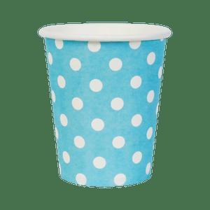 Gobelets Pois Bleu x10