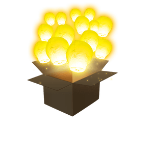 Balloon Jaune x50