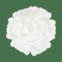 Fleur En Papier Anémone Blanc 30 cm