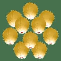 Lanterne Volante Blanc x10
