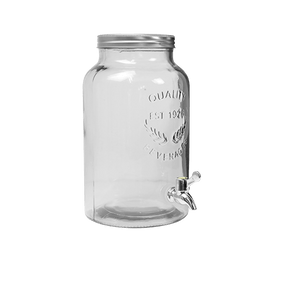 Limonadier Verre Transparent 5,5 L