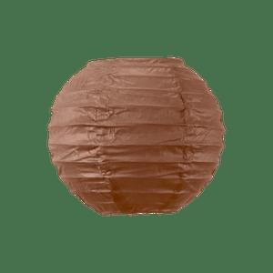 Boule papier 10cm Chocolat