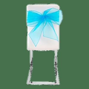 Noeud De Chaise Bleu Turquoise x4