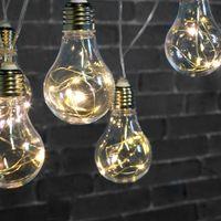 Guirlande Ampoule micro-led 10 ampoules 5 m avec prise