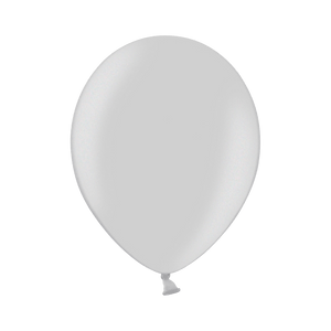 Ballon Latex Biodégradable Argent 28 cm