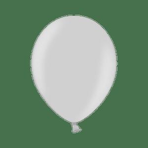 Ballon Latex Biodégradable Argent 28 cm
