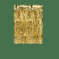 Rideau Frange Métallisé Or 250 cm
