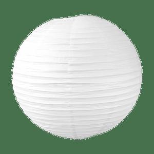 Boule papier 50cm Blanc