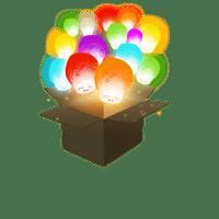 Balloon Multicolores x102
