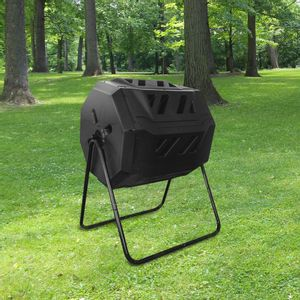 Composteur de Jardin Rotatif 160L