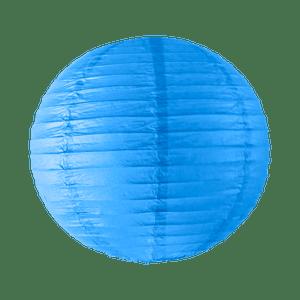 Boule papier 40cm Bleu roi