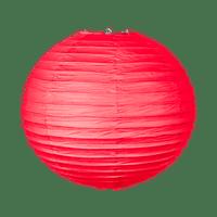 Boule papier 40cm Rouge