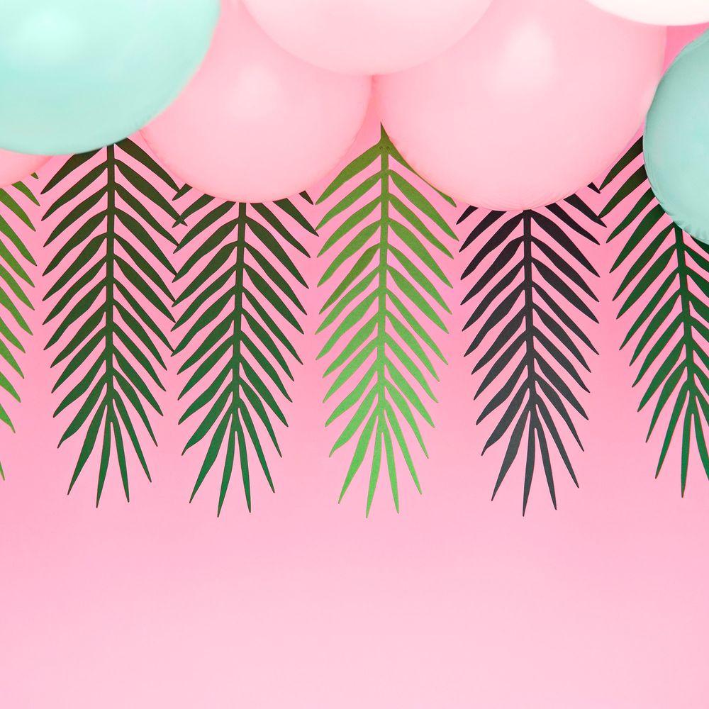 Guirlande Feuilles de Palmier Vert Fonçé
