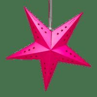 Etoile déco fuchsia 60cm