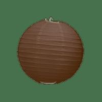 Boule Papier Chocolat 10 cm x3