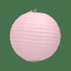 Boule Papier Rose Pale 20 cm x3