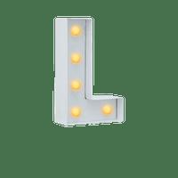 Lettre Lumineuse L