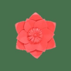 Fleur En Papier Clématite Rouge 20 cm