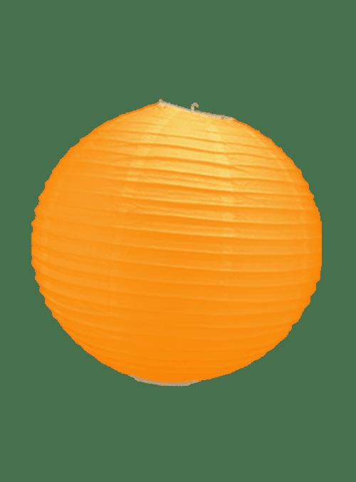 Boule Papier Orange 30 cm x10