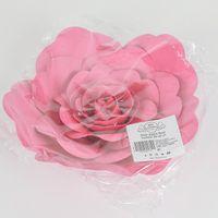 Fleur En Papier Rose Fuchsia 20 cm