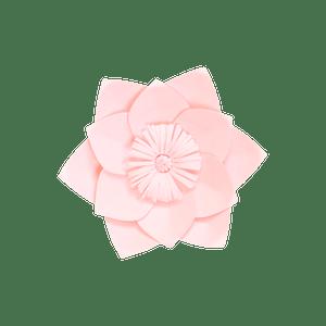 Fleur En Papier Clématite Rose Pâle 20 cm