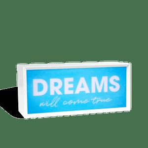 Lightbox On Dreams Bleu