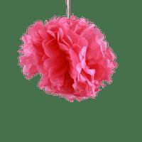 Deco Pour Soirée Mariage & Fête, Anniversaire, Fête Pompons Fuchsia 30Cm (Lot De 6 Pièces)