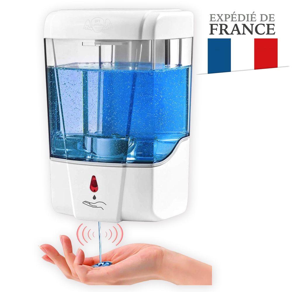 Distributeur Savon et Gel Hydroalcoolique Automatique 700 ml