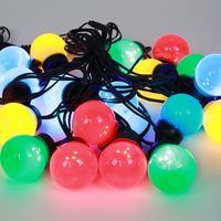 Guirlande Guinguette Eco 10 Bulbes Multicolores 5M
